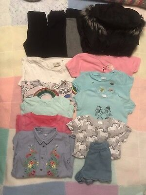 Girls All Next 4-5 Years Bundle   Coat, Dresses, Tops, Rainbow, Unicorn, Legging