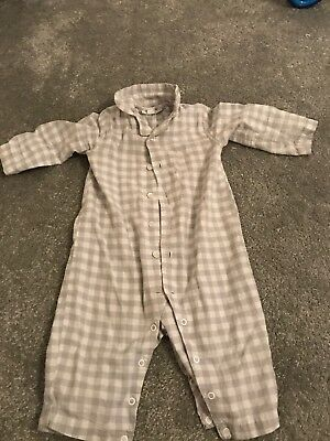 The little White Company Baby Grow 9-12 months