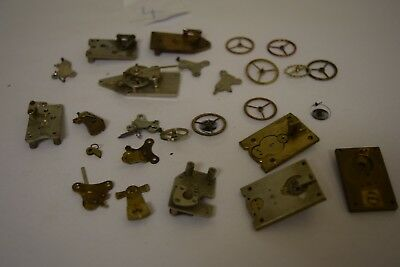 antique carriage  clock escapement platforms parts 4