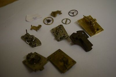 antique carriage  clock escapement platforms parts 8