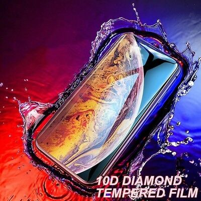 10D Full Curved Protective Tempered Glass Screen Protector For Apple iPhone X XS