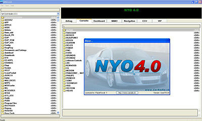 NYO4.0 2017 FULL IMMO CONTACHILOMETRI Radio AIRBAG ECU Software