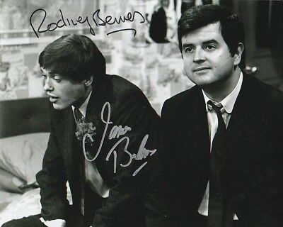 Rodney Bewes and James Bolam SIGNED photograph - A413 - The Likely Lads