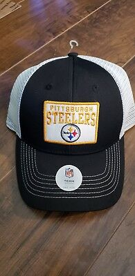 the latest a0c6c 14d4c Pittsburgh Steelers Nfl Snapback Trucker Hat   New!