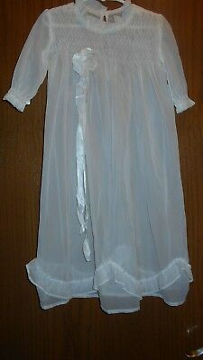 Vintage Victorian Christening gown sheer & Lovely Antique Gown