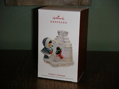 2018 Hallmark Ornament   ~ FROSTY FRIENDS ~  39TH IN THE SERIES