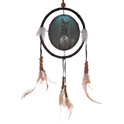 Lisa Parker Rise Of The Witches Cat ( Black Cat ) Dream Catcher 16Cm (B06E)