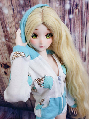 1//3 BJD Clothes Smart Doll Dollfie Dream DD DDdy Retro Sweetheart Dress