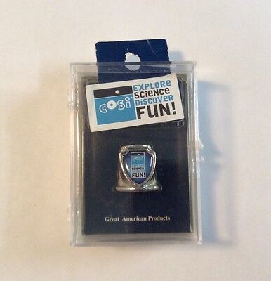 COSI Explore Science Discover Fun Travel Souvenir Thimble