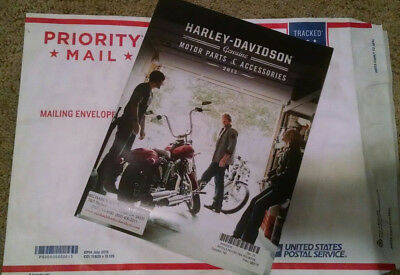 2013 Harley Davidson Parts and Accessories Catalog - Excellent