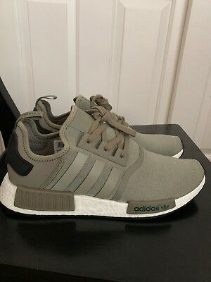 bfe5825d5d89f Adidas NMD R1 Runner Mesh Trace Cargo Trail Olive BA7249 Men Size 12