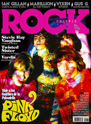Revista Magazine This is Rock Spain September 2018 Cover Pink Floid