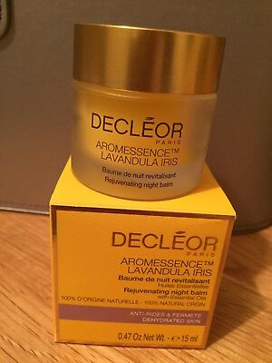 Decleor Aromessence  Lavandula Iris Night Balm. 15 Ml. Boxed