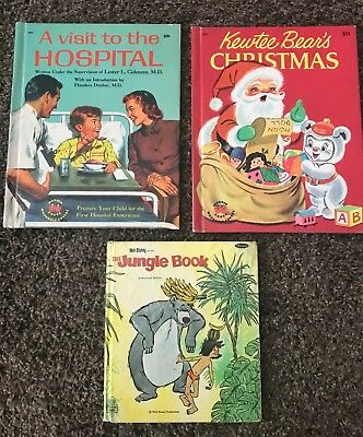 Vintage Children's Picture Books Lot of 3