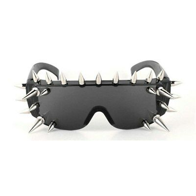 369c13e268 Rivet Spike Rock Sunglasses Gothic Unusual Goggles Lady Gaga Party Punk