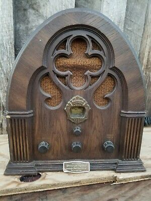 Special Edition Philco Ford Model R-90 Cathedral Radio Parts/Repair