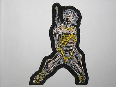 IRON MAIDEN Somewhere In Time embroidered NEW patch heavy metal