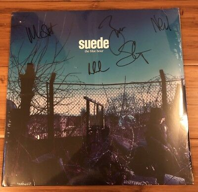 Suede-The Blue Hour VINYL ***SIGNED***