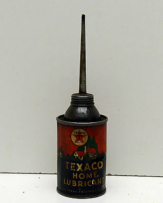 Vintage Texaco home lubricant oil Can