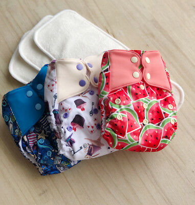 Elf  Pocket Nappies x 3 with inserts included