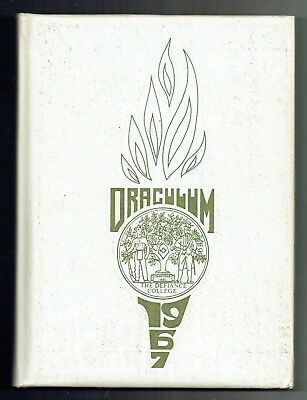 1967 The Defiance College Ohio Yearbook!