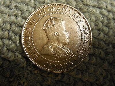 1906 Canadian Large Cent/Penny in VF condition. But you decide!!!!!!