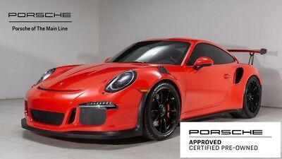 2016 911 GT3 RS 2016 Porsche 911 GT3 RS 2,988 Miles Lava Orange 2D Coupe H6 7-Speed Porsche Dopp
