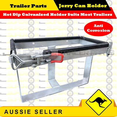 20L Jerry Can Holder Galvanized For Trailer Camping Caravans & 4Wd's 20 Litre-Sp