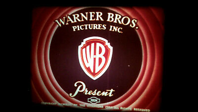 16mm Warner Bros Cartoon A PEST IN THE HOUSE (1947) Daffy Duck Low Fade !