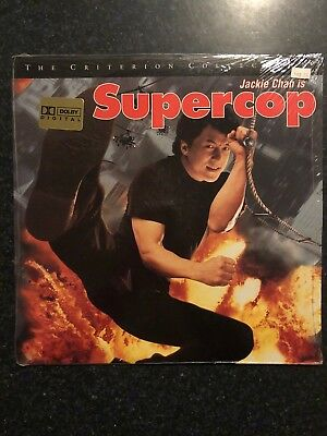 Supercop Jackie Chan Criterion Collection Laserdisc Ld Laser Disc New New