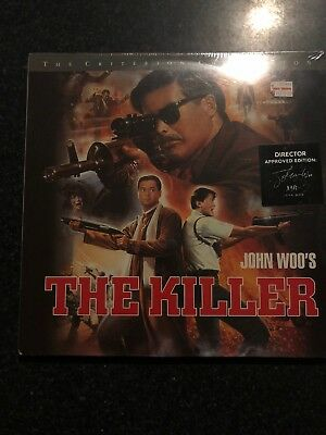 The Killer-1989(Laserdisc)*OOP*Criterion Collection*Chow Yun-Fat,John Woo - New!