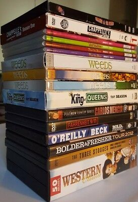 DVD Lot of 12 TV Shows/Seasons & Western Classics of 50 Movies Box Set