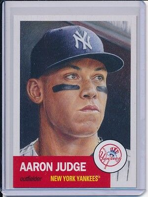 2018 Topps Living Set Aaron Judge Card #1 Week 1 SP Short Print New York Yankees