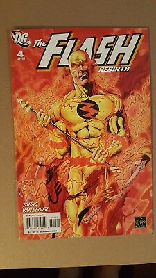 Flash Rebirth #4 ( of 6) 1:25 Reverse Flash Variant Cover by Ethan Van Sciver!