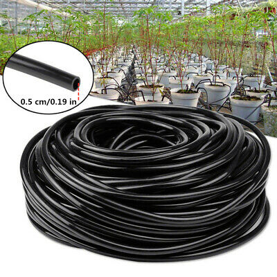 10M Watering Tubing Hose Pipe 4/7mm PVC Hose Micro Drip Garden Irrigation System