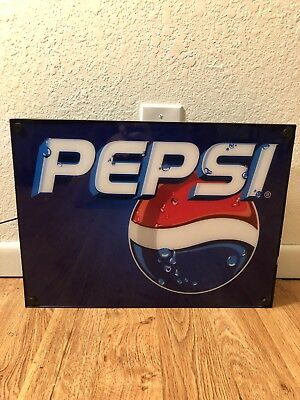 Pepsi Light Up Sign