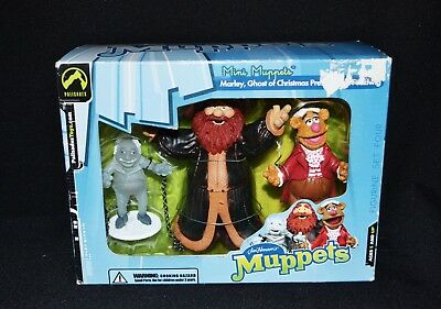 The Muppet Show Ghost Of Christmas Present Fozziwig & Marley Figurine Set 2003