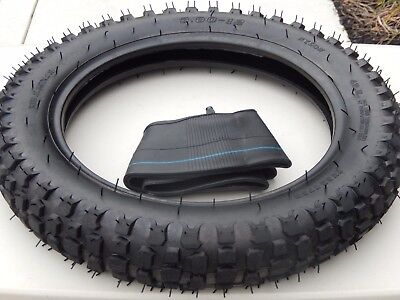 3.00-12 inch Tyre + inner tube Trail Off Road Dirt Bike Motocross Motorcycle pit