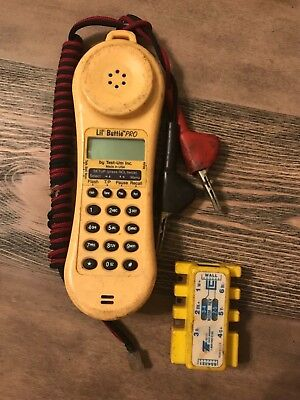 Lil' Buttie Pro Telephone Test Butt Set With Banjo Clip Adaptor Made in The USA