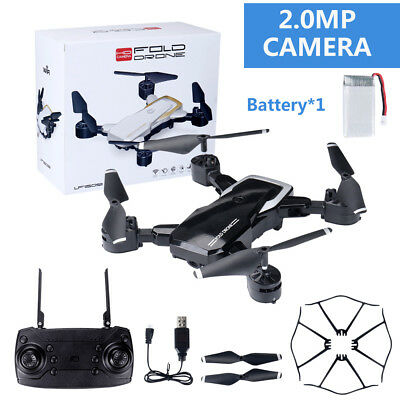 Foldable Wifi FPV 1080P 2.0MP HD Camera 2.4G 4-Axis RC Quadcopter Selfie Drone