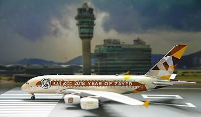 Phoenix 1/400 Diecast Aircraft Model Airbus A380,ETIHAD AIRWAYS,04227