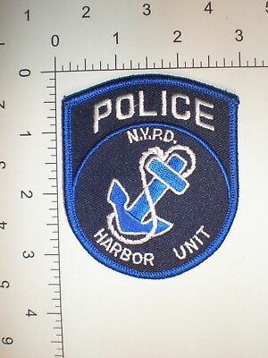 NY New York City Police Dept NYPD NYC patch HARBOR Special water marine unit