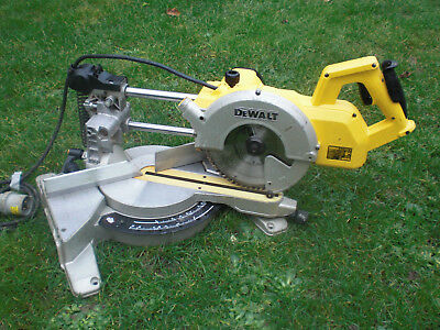 New Shape DW777 LX Dewalt Telescopic Slide Chop Mitre saw DW707