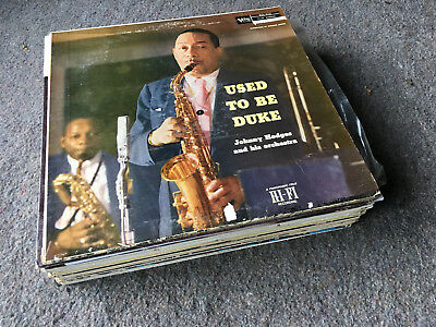 Lot of 19 JAZZ/BIG BAND/BEBOP/SWING/PIANO/VOCAL/LOUNGE LPs Instant Collection!!