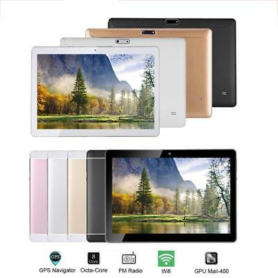 10.1'' 64GB Android 7.0 Tablet PC Octa Core 10 Inch HD WIFI SIM 4G Phablet NEW