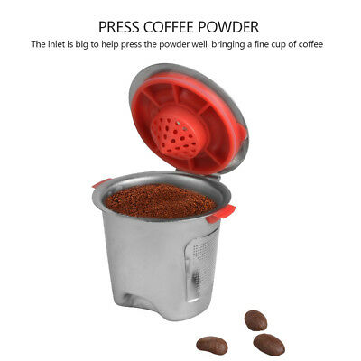 1pc Stainless Steel Reusable Refillable Coffee Capsules Pod Cup For Nespresso