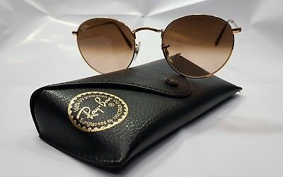 7ed8341a356f8 RAY BAN RB3447 Sunglasses Round Metal 9001  A5 50-21 145 3N Original ...