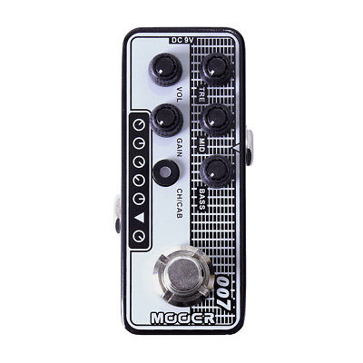 Mooer Micro Preamp 007 Regal Tone Guitar Effects Pedal Based on ToneKing Falcon