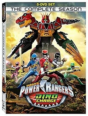 Power Rangers Dino Charge: The Complete Season 031398259701 (DVD Used Very Good)