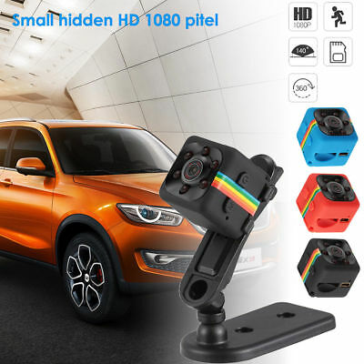 Full HD 1080P Mini Car Hidden DV DVR Camera Sp-y Dash Cam IR Night Vision SQ11